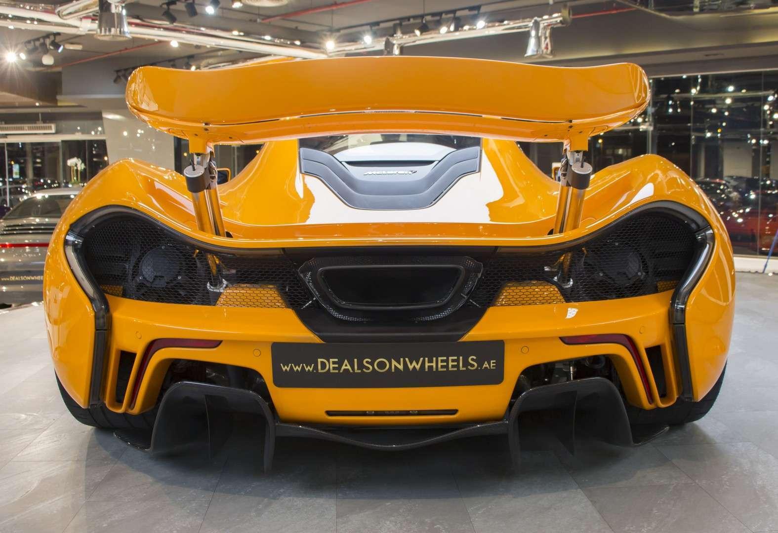 2014 MCLAREN - P 1 SUPER CAR