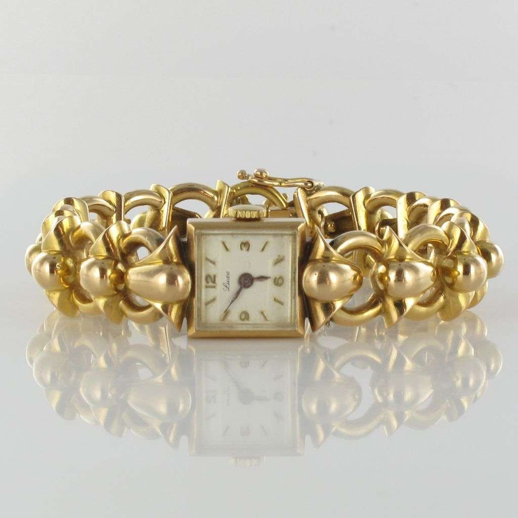 Yellow Gold Vintage Ladies Watch