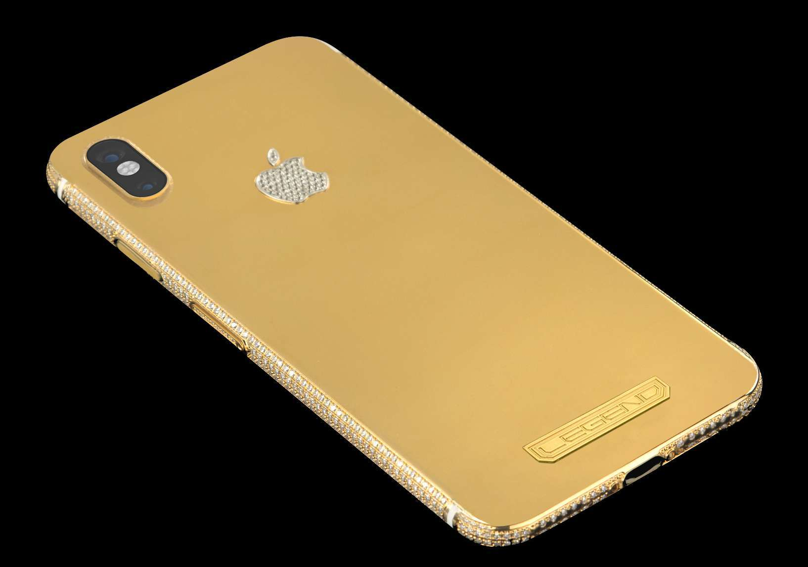 iPhone XS Diamond Edition 24k gold with 10.70ct diamonds