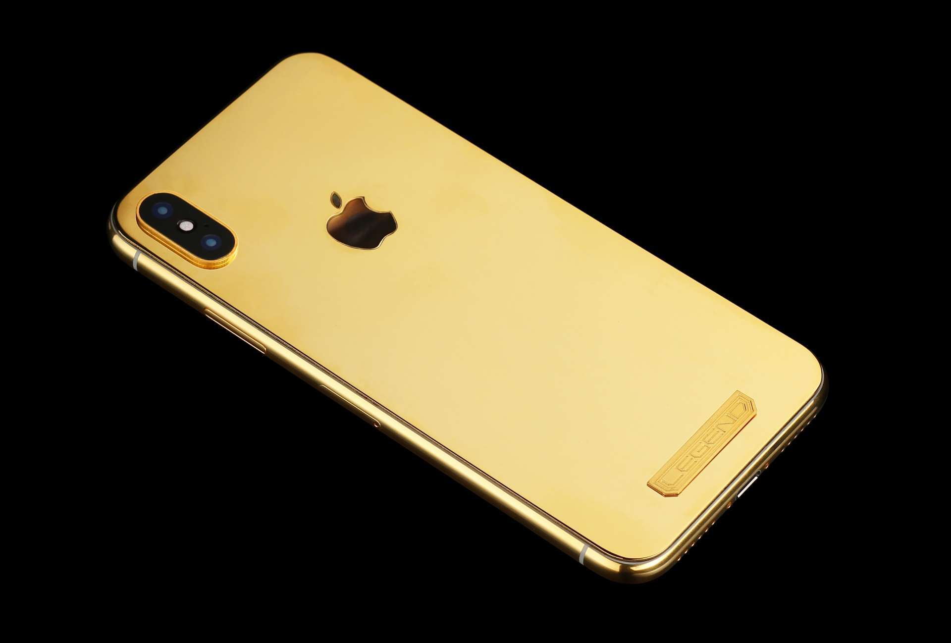 Custom Luxury iPhone XS 24k Gold Plated limited edition - AURUM