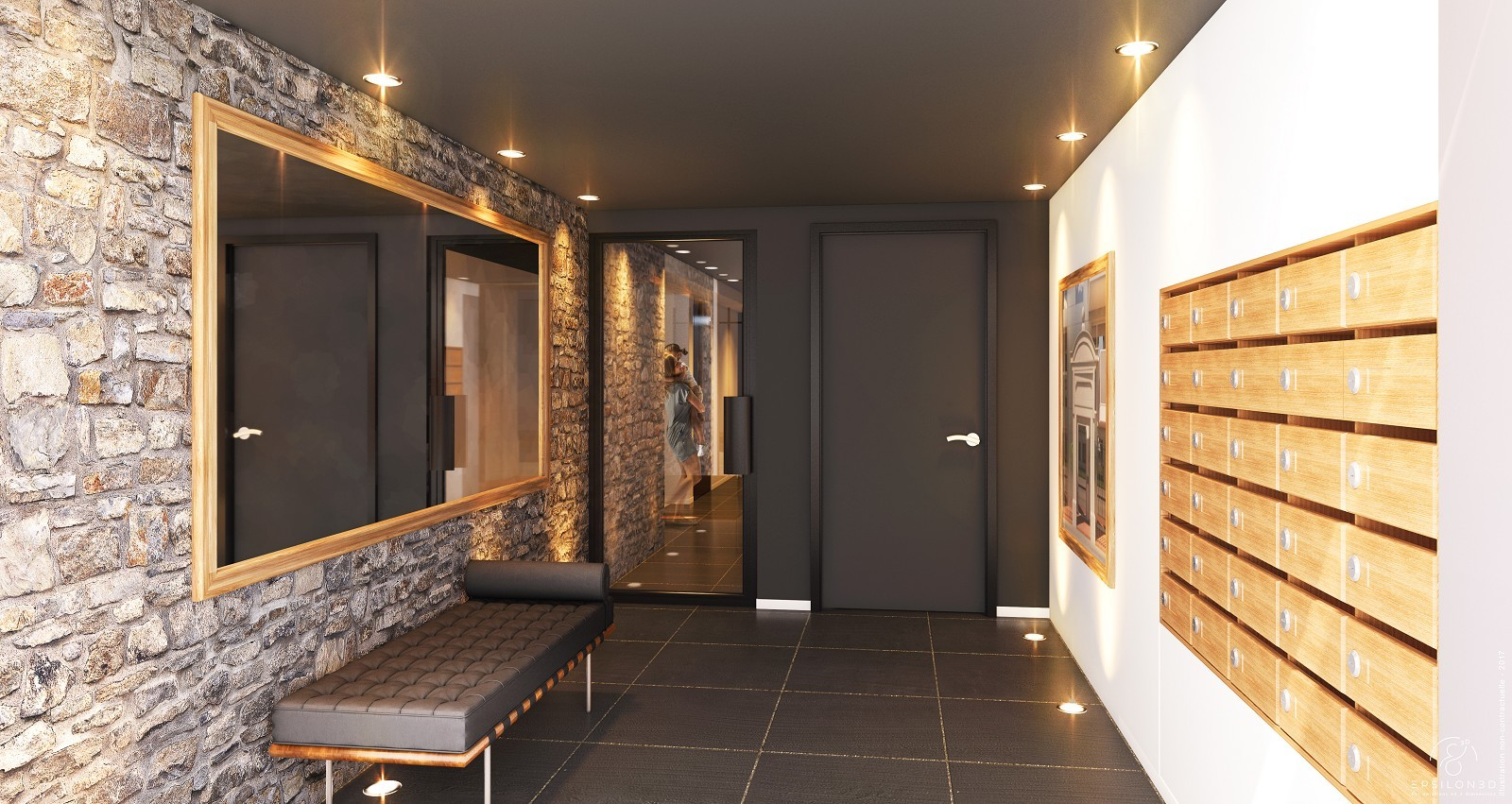 NANTES - Apartment of 59 sq.m in the heart of downtown Nantes