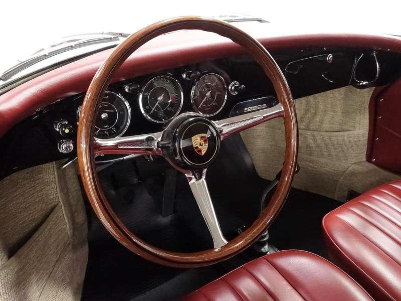 1960 Porsche 356B 1600 Super Coupe by Reutter