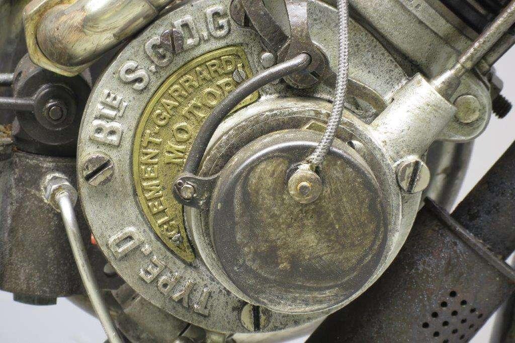 "Clément Garrard 1904 ""2HP"" 192cc 1 cyl ohv 2802"