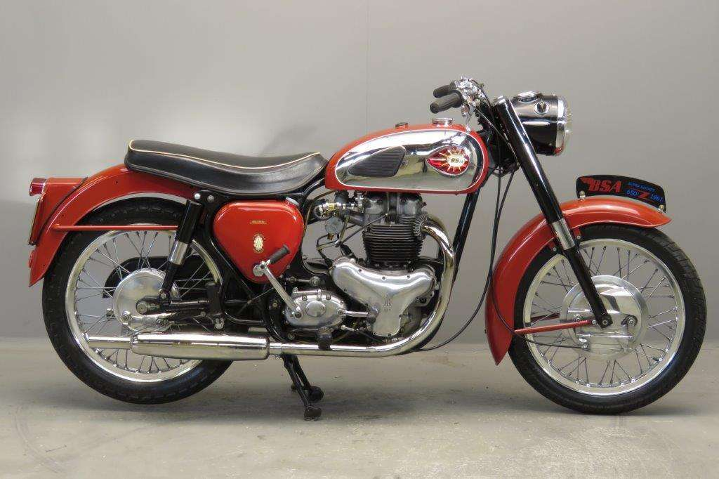 BSA 1961 A10 Super Rocket 650cc 2 cyl ohv 2801