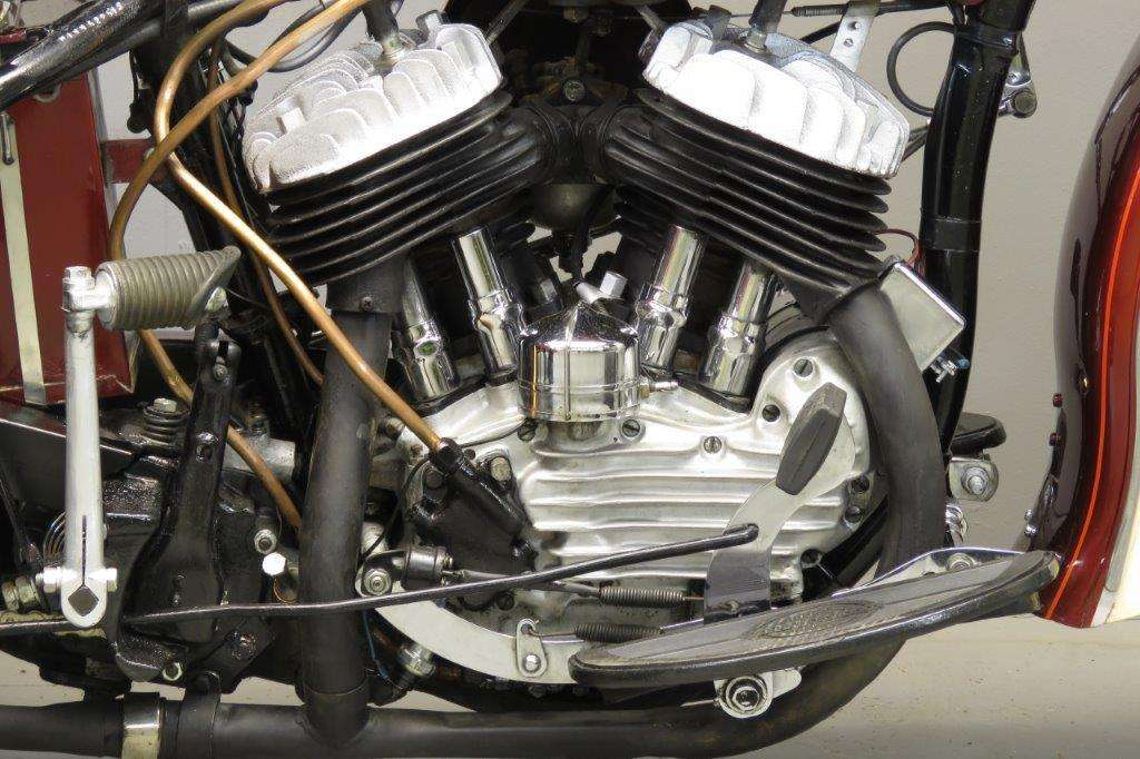 Harley Davidson 1949 Servicar 750cc 2 cyl sv 2801