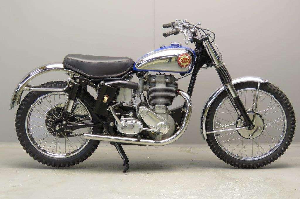 BSA 1959 Catalina Scrambler 500cc 1 cyl ohv 2801