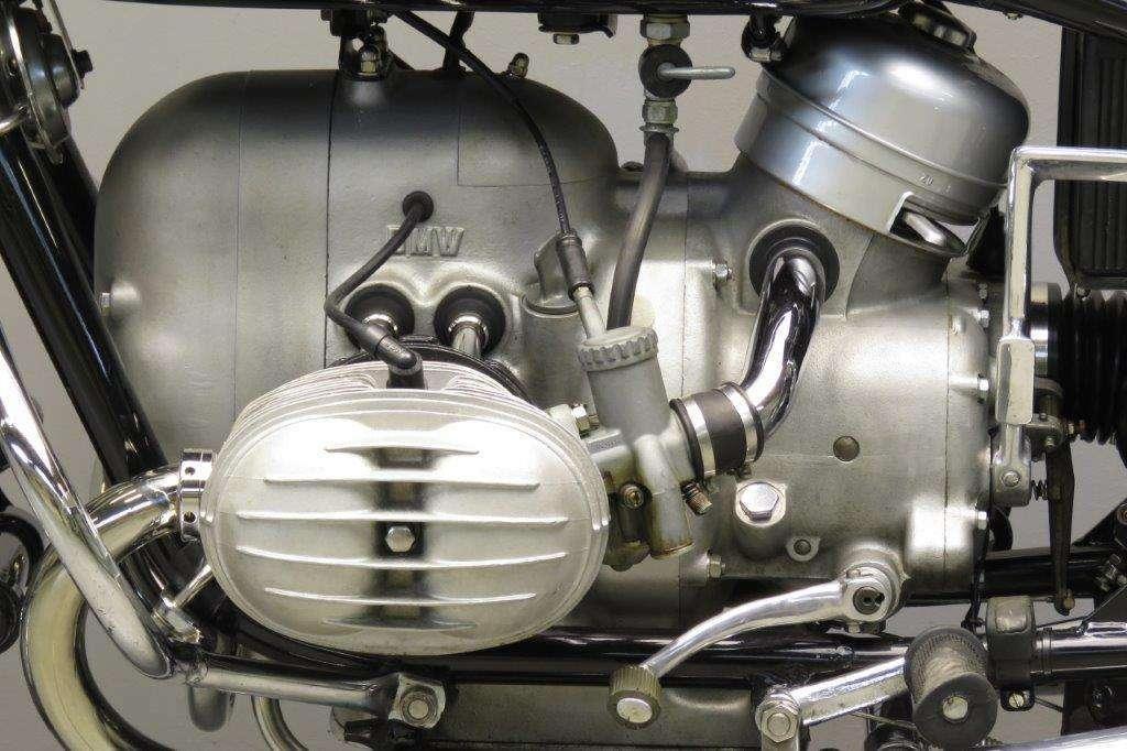BMW 1968 R60 600cc 2 cyl ohv 2801