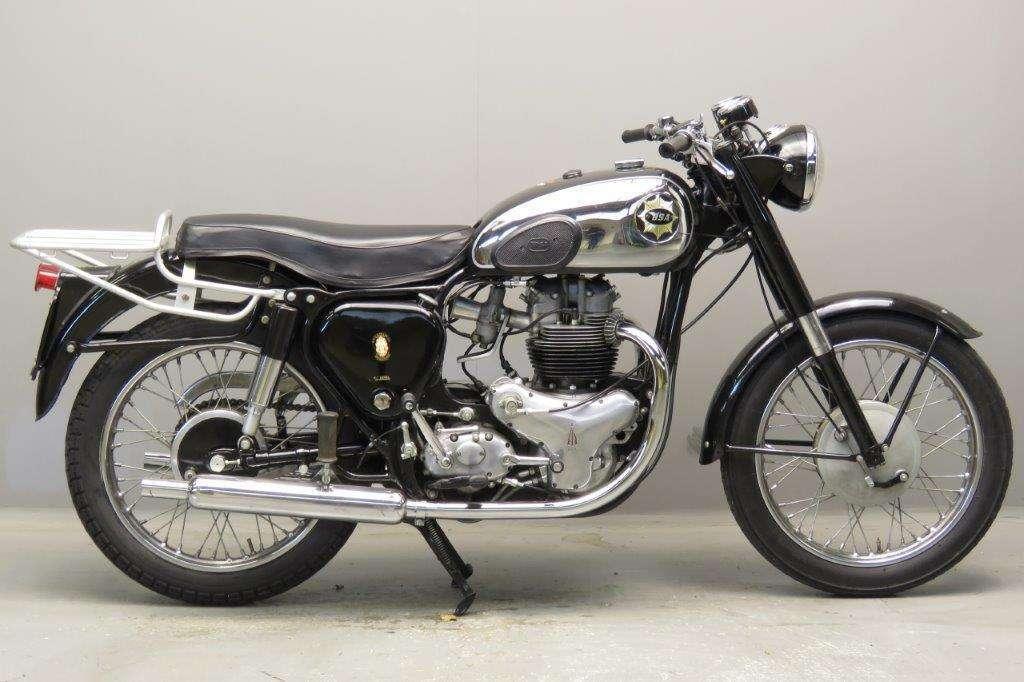 BSA 1956 A10 650cc 2 cyl ohv 2801