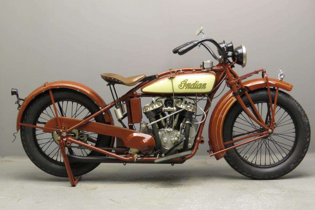 Indian 1927 Big Chief 1200cc 2 cyl sv 2801
