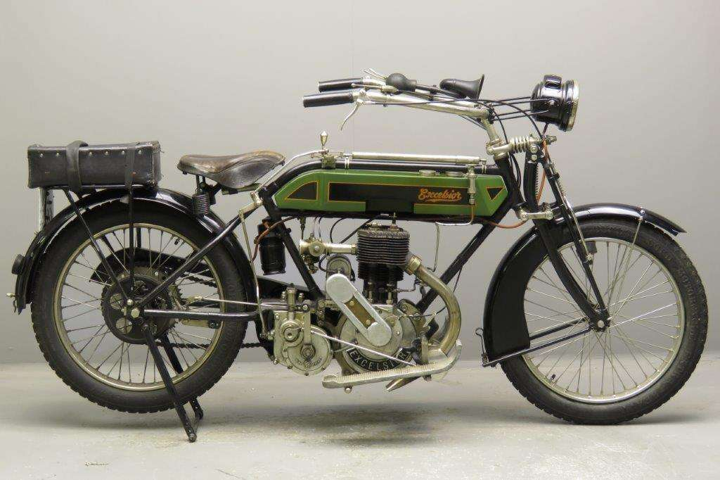 Excelsior 1914 Big Single 810cc 1 cyl sv 2801