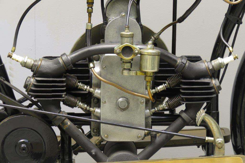 Douglas 1914 2¾hp 350cc 2 cyl sv 2712