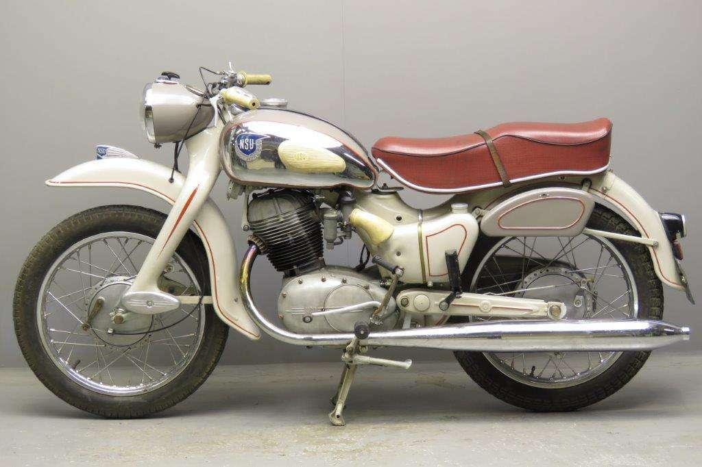 NSU 1956 Max 250cc 1 cyl ohc 2712
