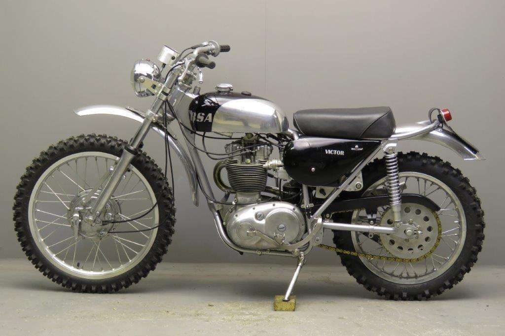 BSA 1967 B44 Victor Enduro 441cc 1 cyl ohv 2712