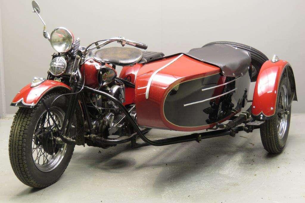 Harley Davidson 1942 U 1200cc 2 cyl sv 2712