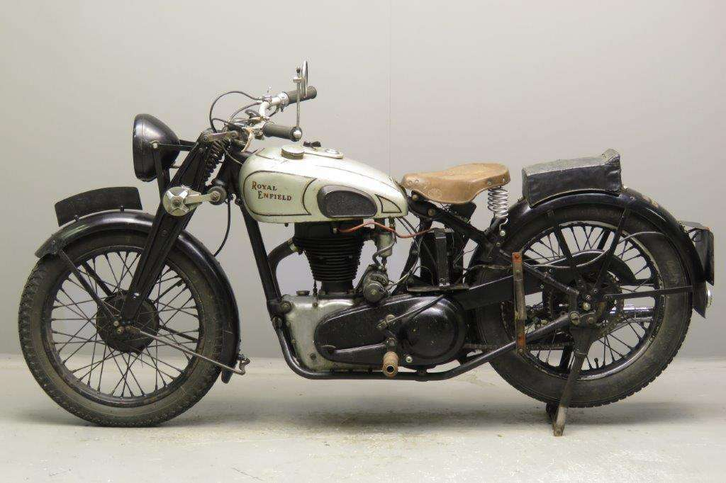 Royal Enfield 1937 Model J 500cc 1 cyl ohv 2712