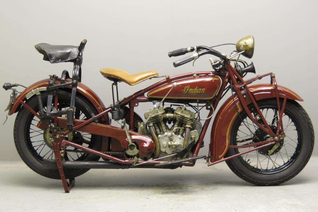 Indian 1929 101 scout 600cc 2 cyl sv 2711