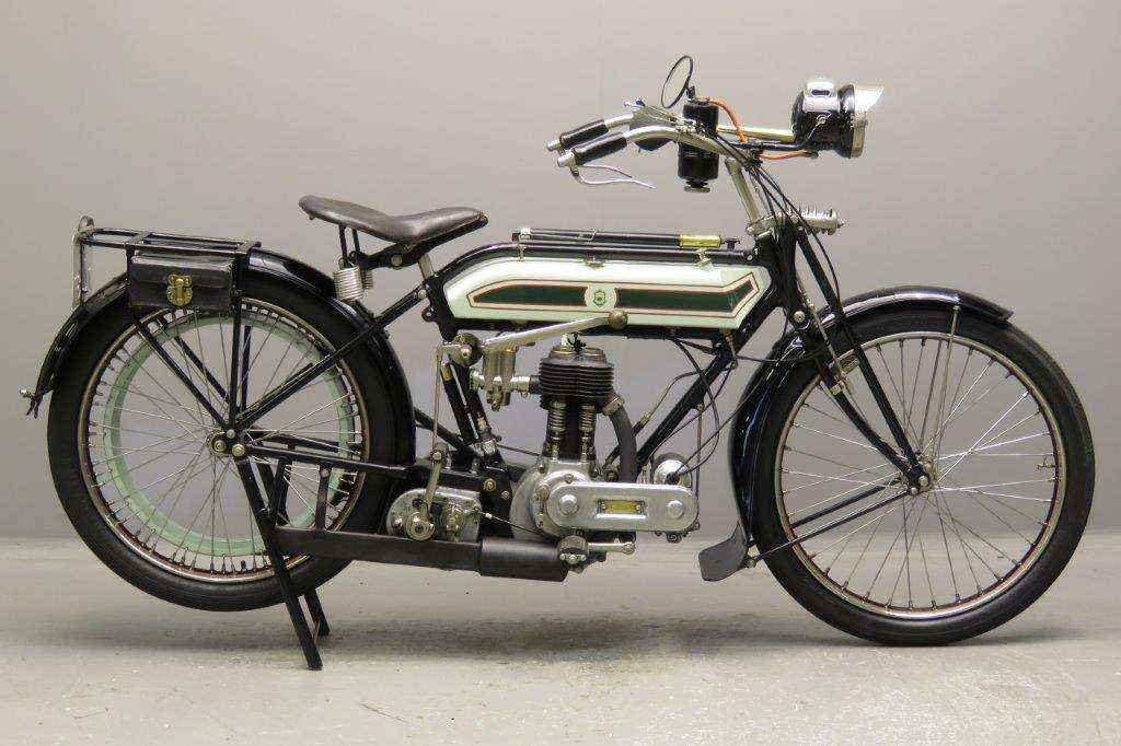 Triumph 1920 Model H 550cc 1 cyl sv 2711