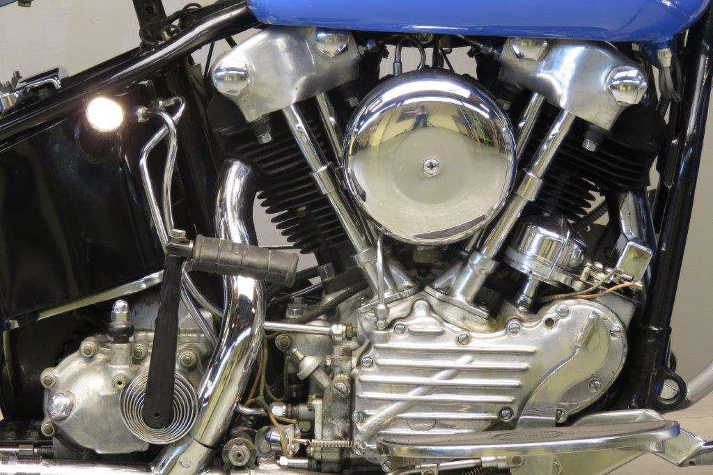 Harley Davidson 1946 EL46 1000cc 2 cyl ohv 2711