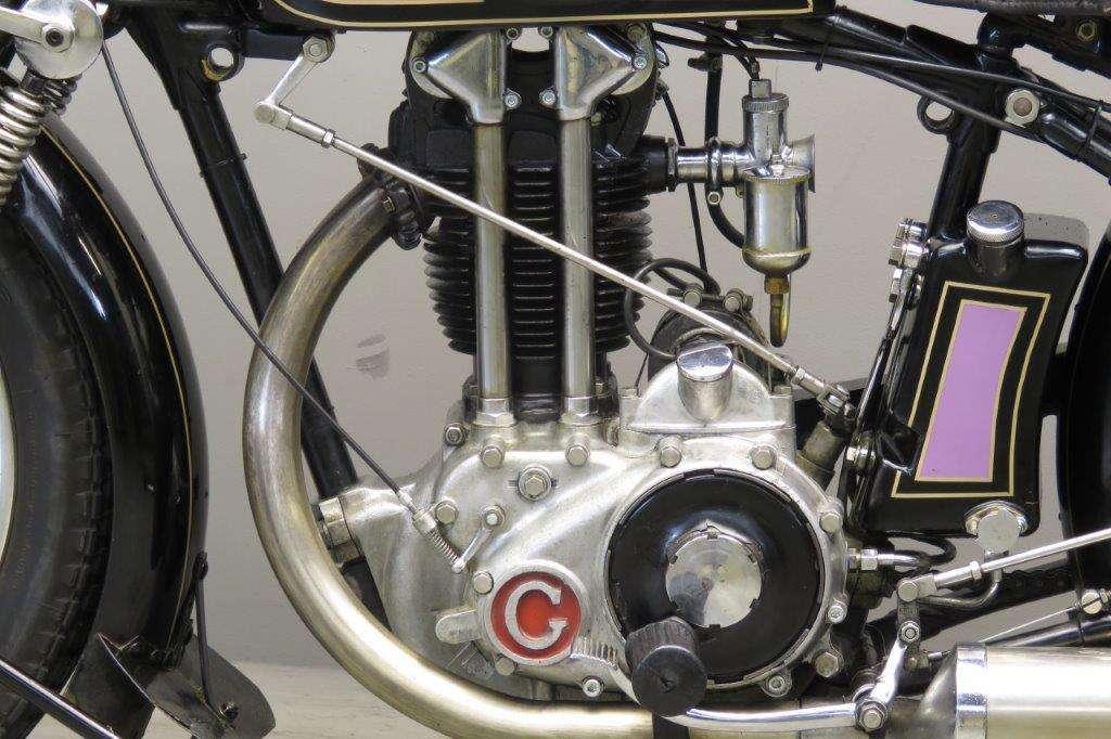 Gillet 1929 Sport 500cc 1 cyl ohv 2710