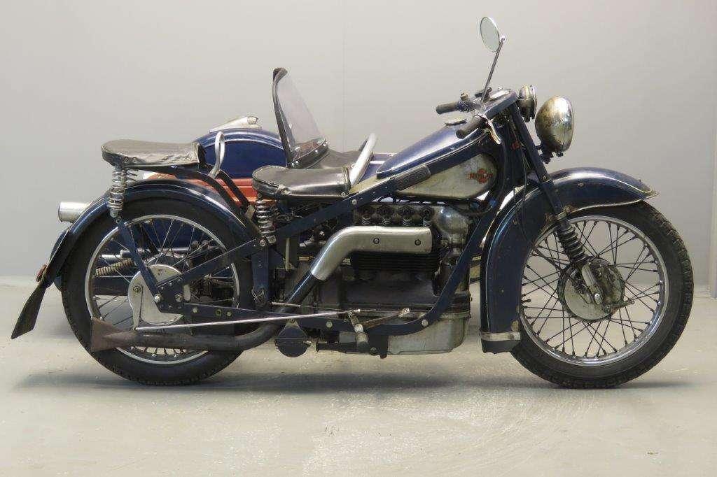 Nimbus 1937 sidecar combination 2709