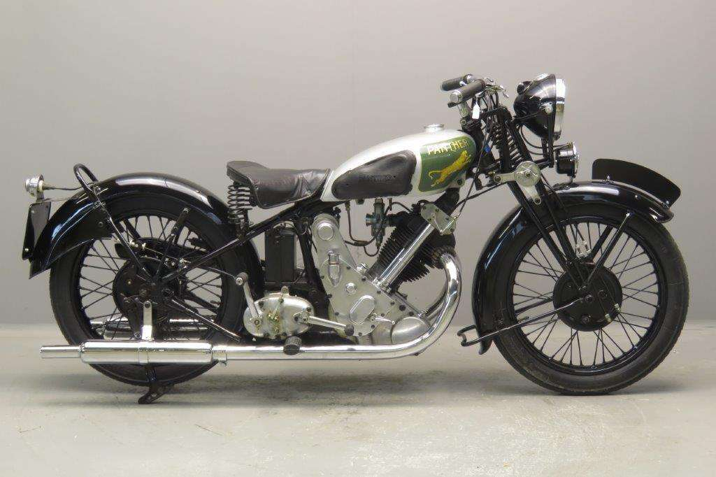 Panther 1934 model 100 598cc 1 cyl ohv 2708