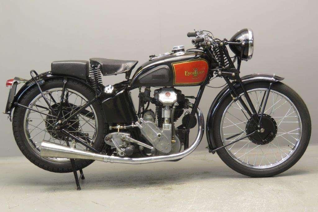 Excelsior 1935 Manxman E12 350cc 1 cyl ohc 2708