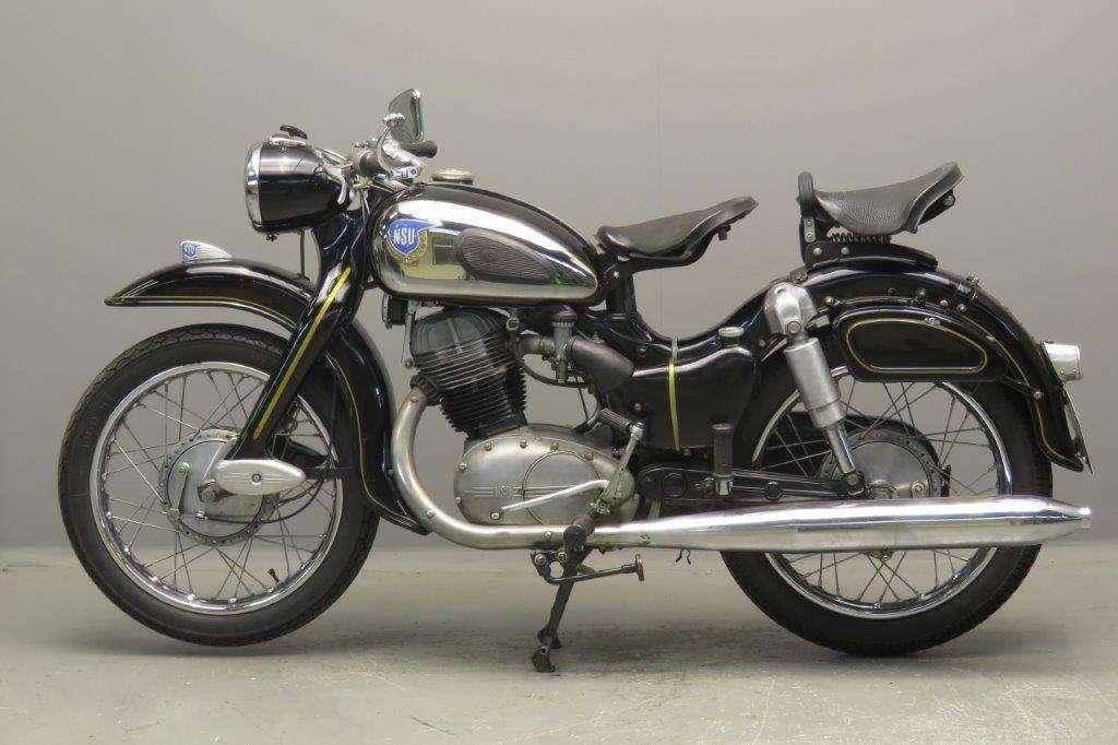NSU 1959 Super Max 250cc 1 cyl ohv 2708