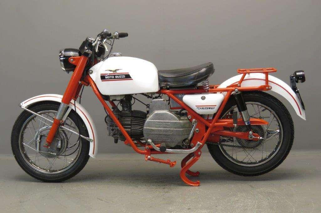 Moto Guzzi 1971 Falcone 500cc 1 cyl ohv 2708