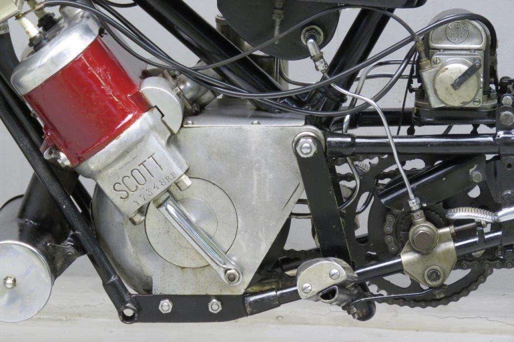 Scott 1926 Super Squirrel 598cc 2 cyl ts 2602