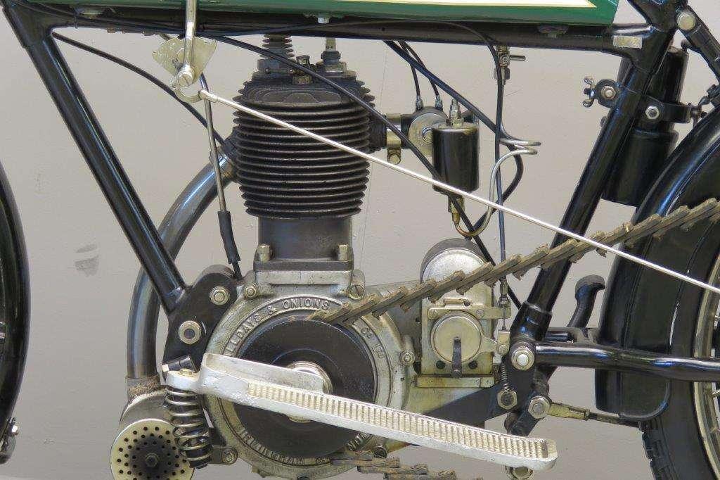Alldays Matchless 1912 500cc 1 cyl sv 2706