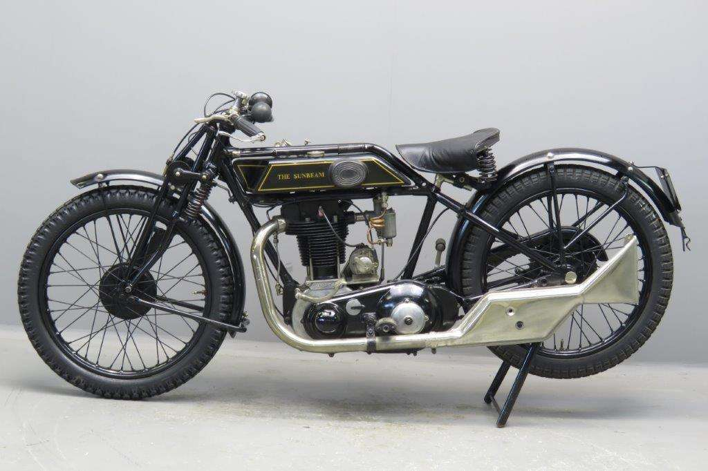 Sunbeam-1927 Model 9 500cc 1 cyl ohv 2705