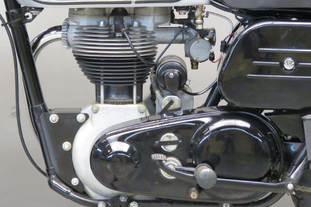 Norton 1958 Model 50 350cc 1 cyl ohv 2705