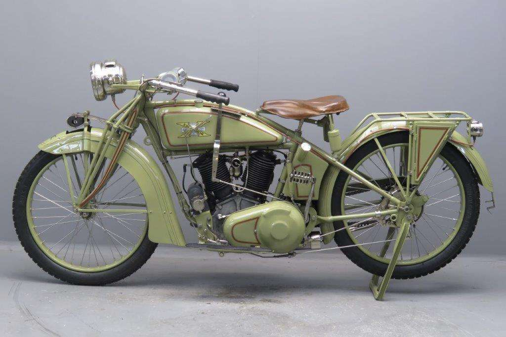 Excelsior 1917 1000cc 2 cyl ioe 2704