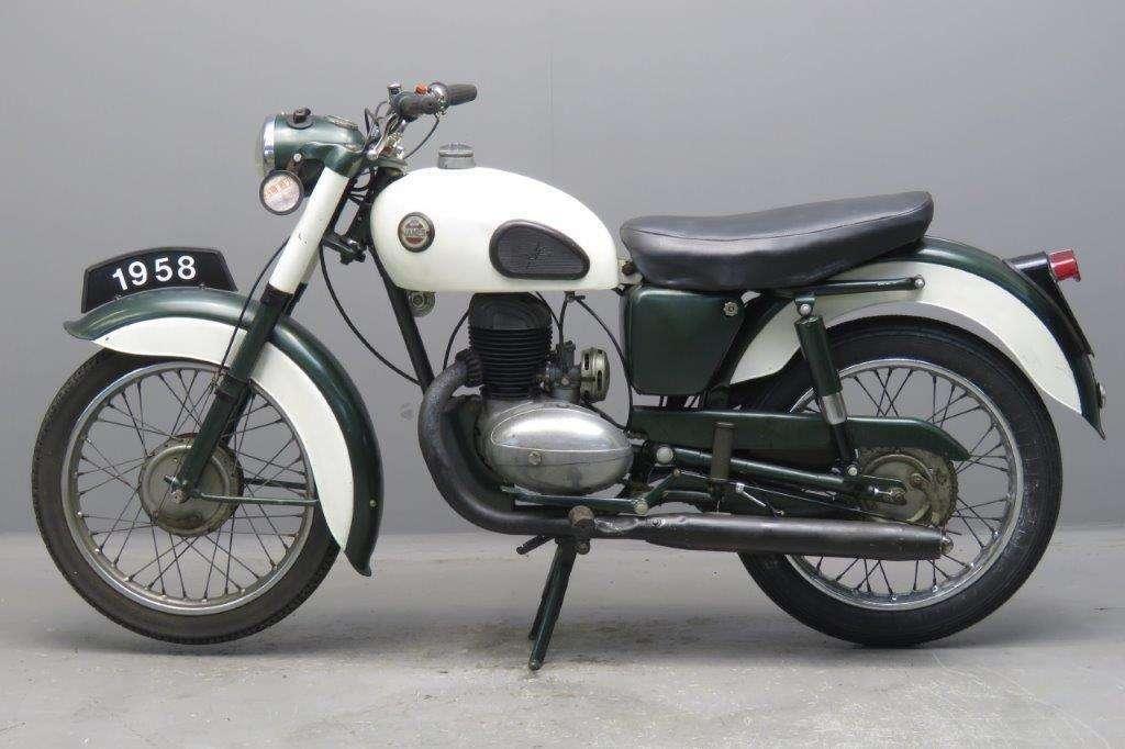James 1958 Cadet 147cc 1 cyl ts 2704