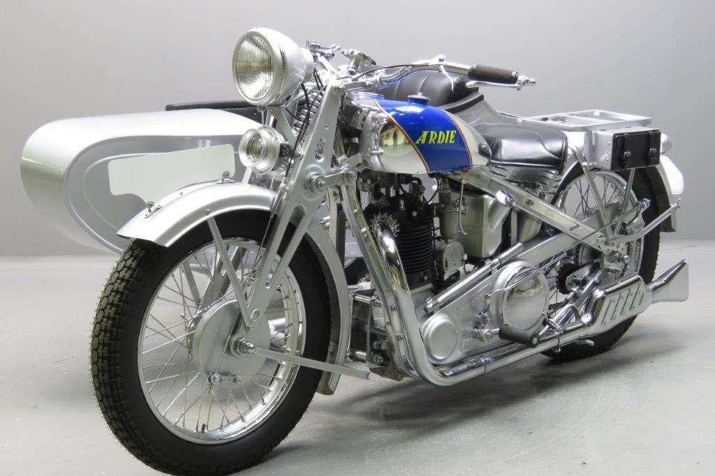 Ardie 1931 SS31 Silberpfeil 500cc 1 cyl ohv 2701