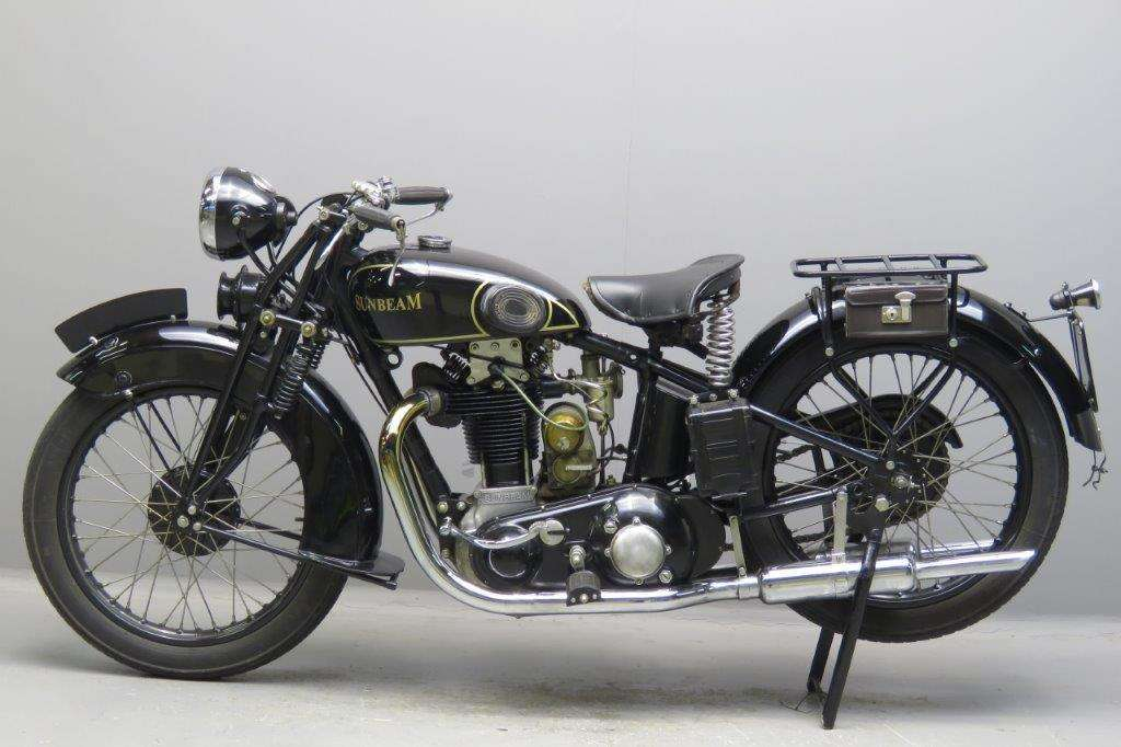 Sunbeam 1930 Model 9 500cc 1 cyl ohv 2702