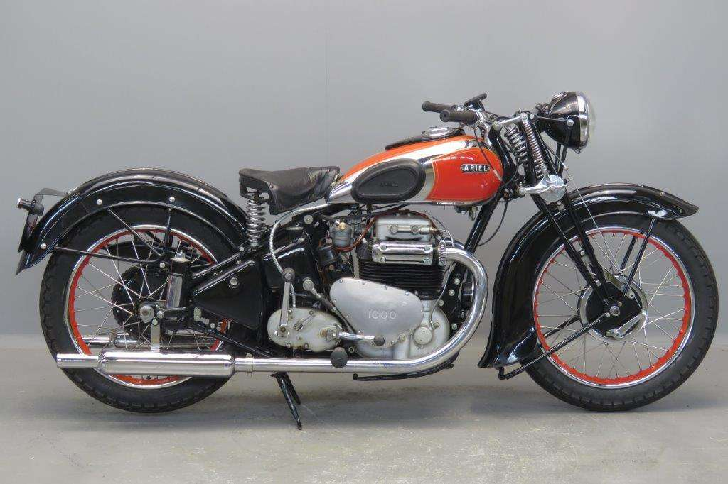 Ariel 1939 Square Four 1000cc 4 cyl ohv 2703