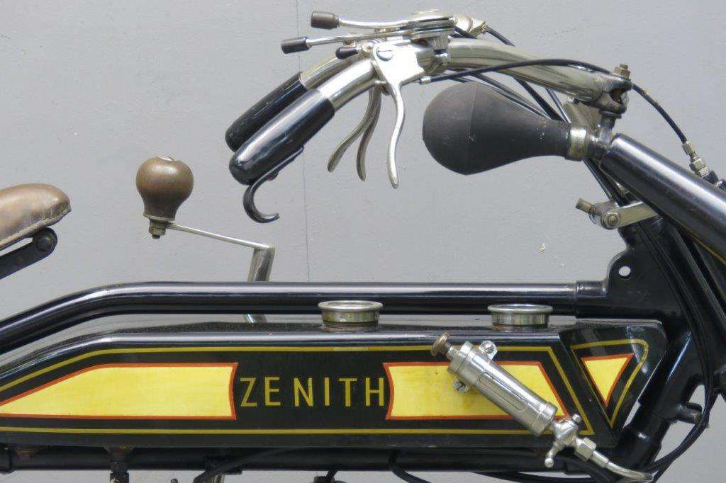 Zenith 1914 Gradua twin 650cc 2 cyl sv 2603