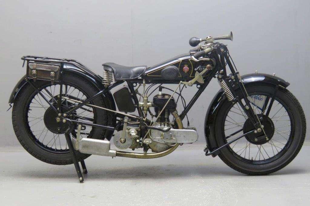 Sarolea 1929 model 25.O 350cc 1 cyl sv 2601