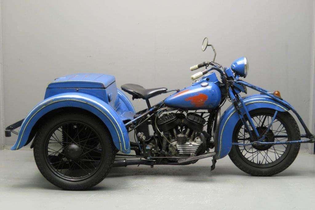 Harley Davidson 1937 Servi-Car 750cc 2 cyl sv 2706