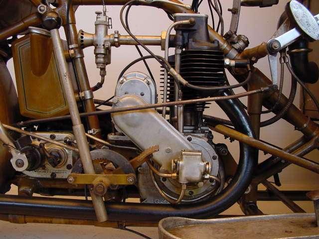 Motosacoche 1930 Triporteur T2A 350cc ioe