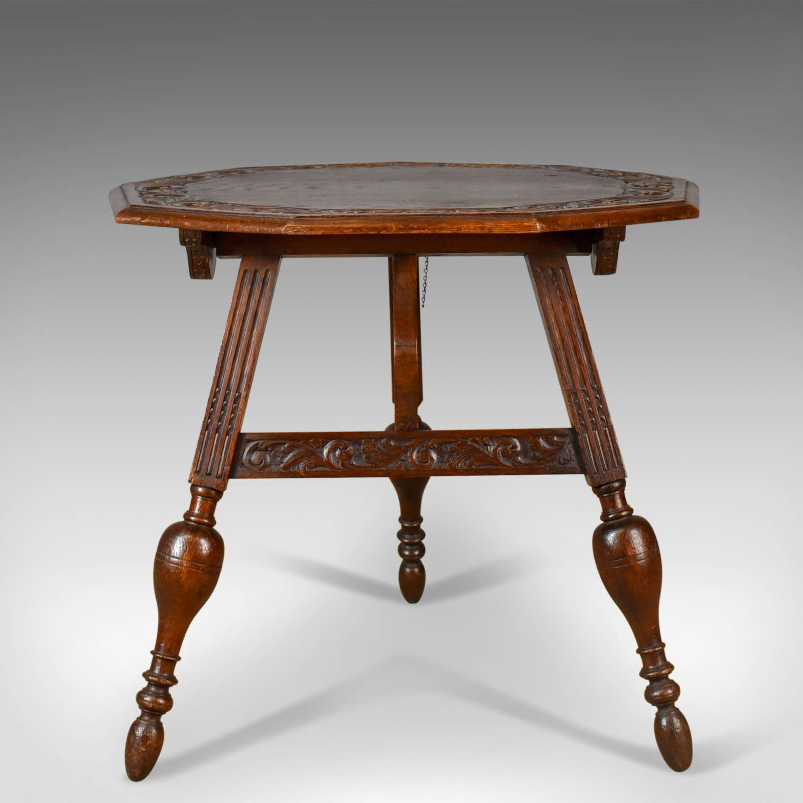 Antique Folding Table, Dutch, Friesland, Oak, Ships, Tavern, Campaign Circa 188