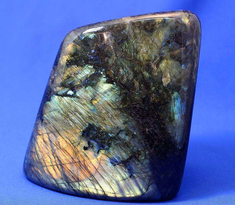 POLISHED LABRADORITE FROM MADAGASCAR - 5.59 INCHES