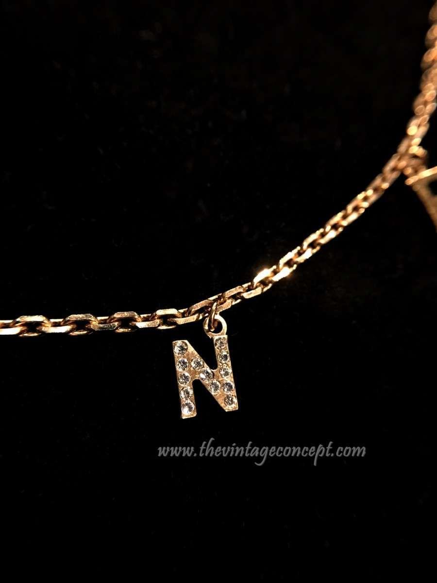 Celine Logo Necklace