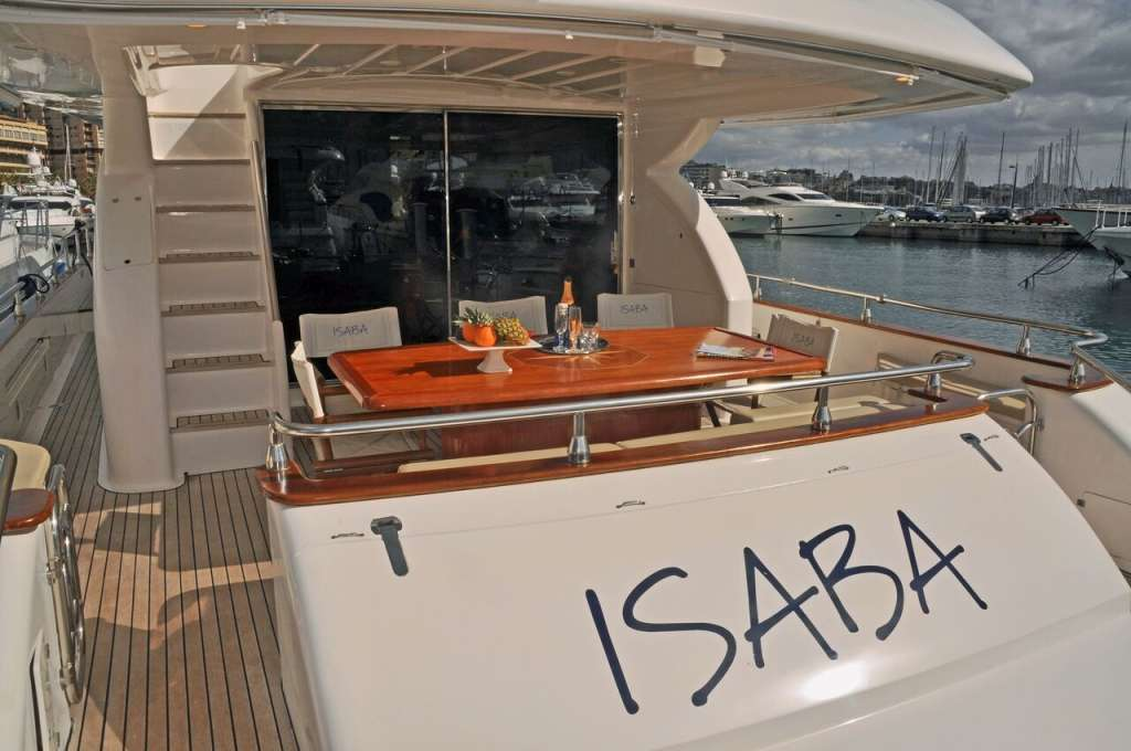 ISABA - FOR CHARTER