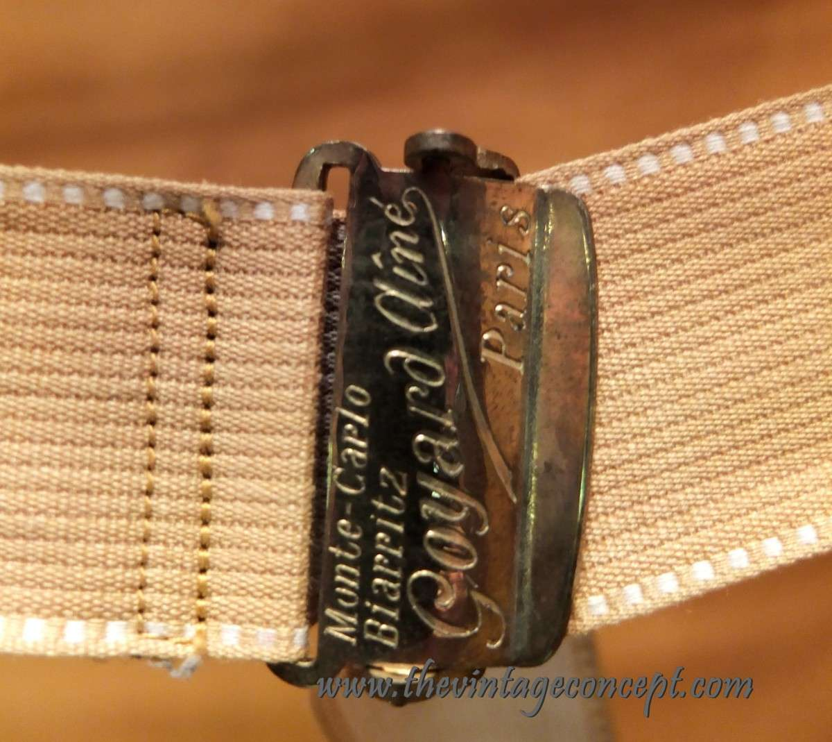 "Goyard Vintage Wardrobe Initial ""A.T.S"""