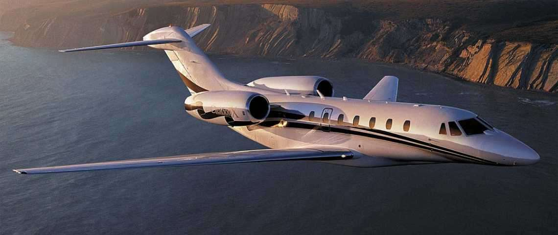Citation X  - for charter