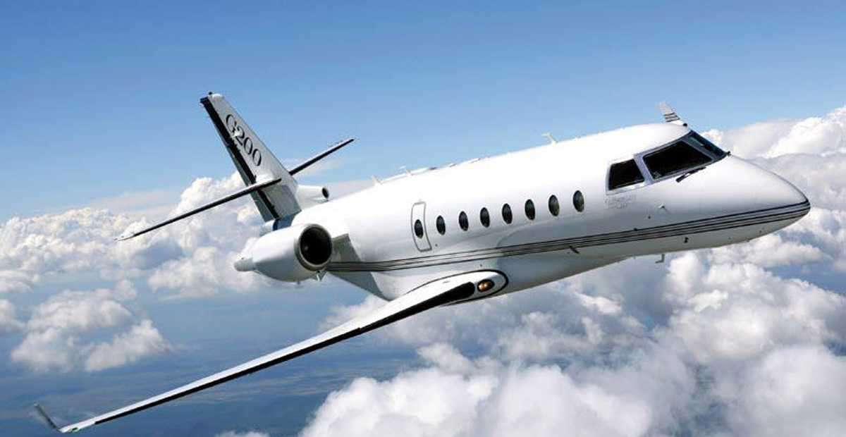 Gulfstream G200 - for charter
