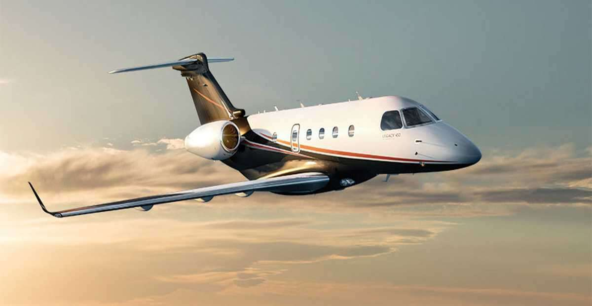 Legacy 450 - for charter