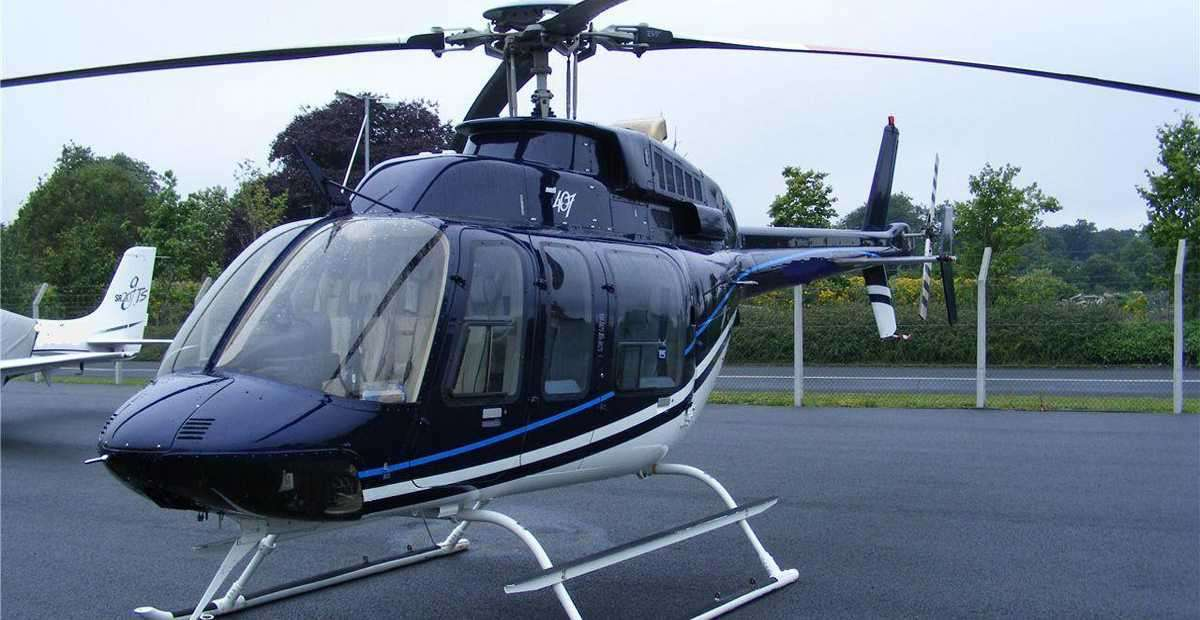 BELL 407 JET RANGER - for charter